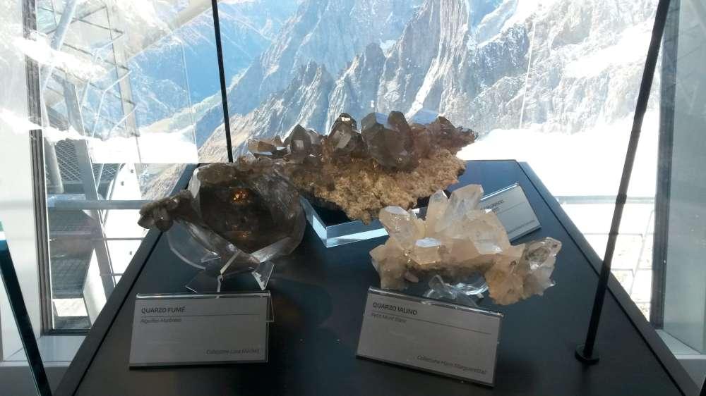 Museo dei cristalli Sky Way Monte Bianco Visite guidate